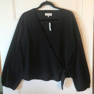 NWT Madewell Crepe Wrap Blouse Size 2X